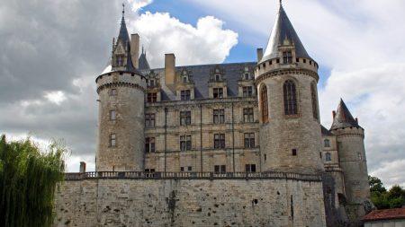 france, castle, building