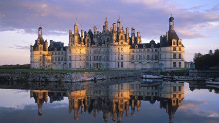 france, castle, white stone
