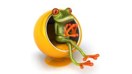 frog, sit, seat