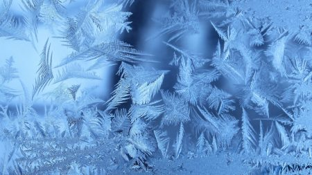 frost, patterns, ice