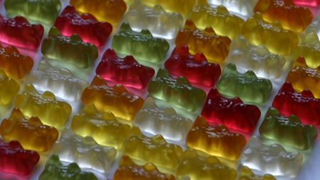 fruit candy, sweet, multi-colored