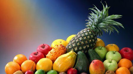 fruit, exotic, pineapple