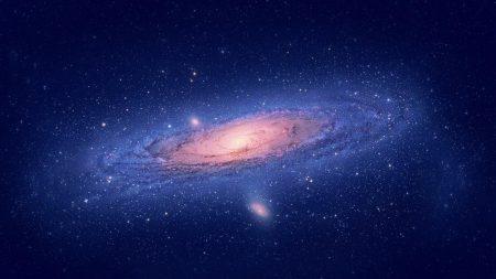 galaxy, stars, swirl