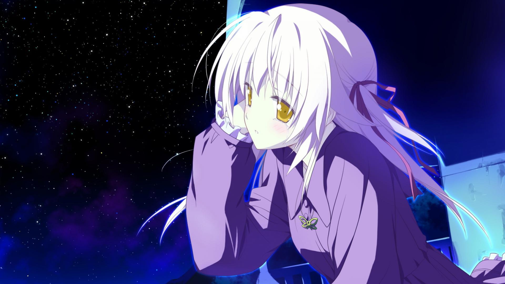 game cg, hoshizora no memoria, girl