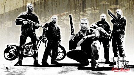 gang, gta 4 lost and damned, men