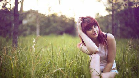 garrett meyers, red-haired, grass