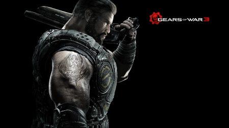 gears of war 3, character, tattoo