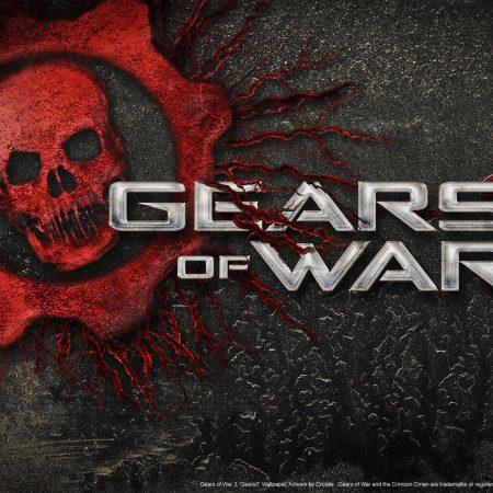 gears of war 3, skull, font