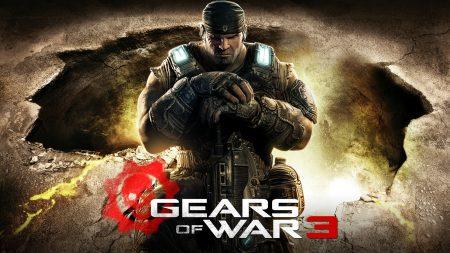 gears of war 3, soldier, gun
