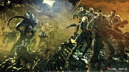 gears of war, characters, soldiers