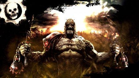 gears of war, monster, arm