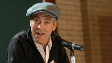 george clooney, man, actor