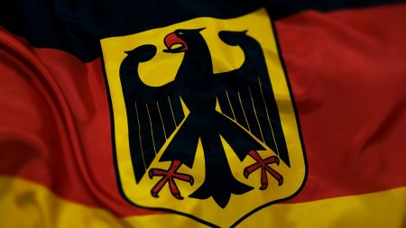 germany, flag, coat of arms