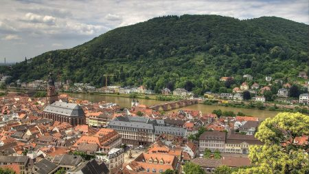 germany, panorama, river
