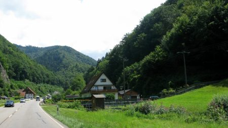 germany, road, lodge