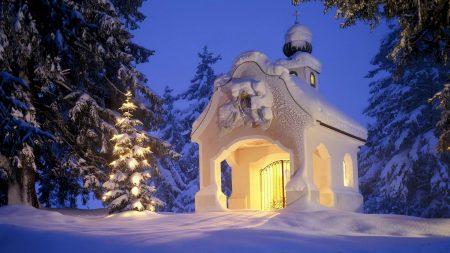 germany, snow, winter
