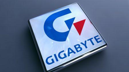 gigabyte, logotype, symbol