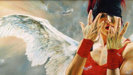girl, angel, splenium