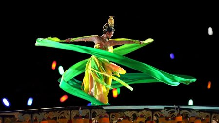 girl, asian, dance