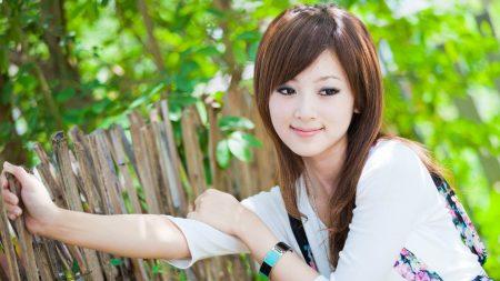 girl, asian, eyes