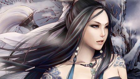 girl, asian, tattoos