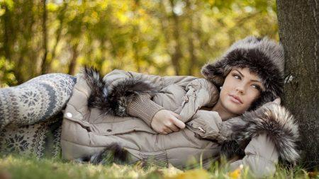 girl, autumn, jacket