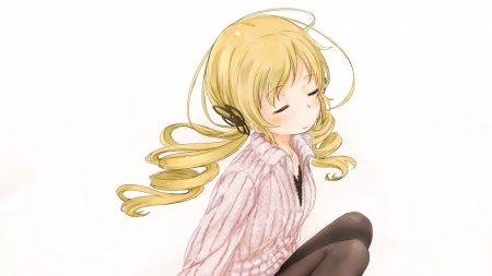 girl, blonde, cute