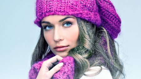 girl, blue eyes, hat