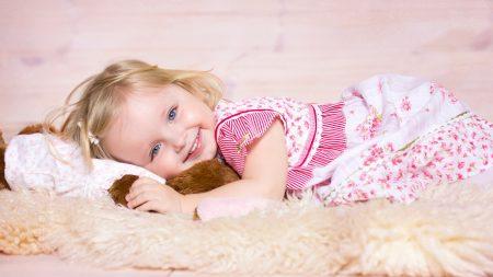 girl, child, smile
