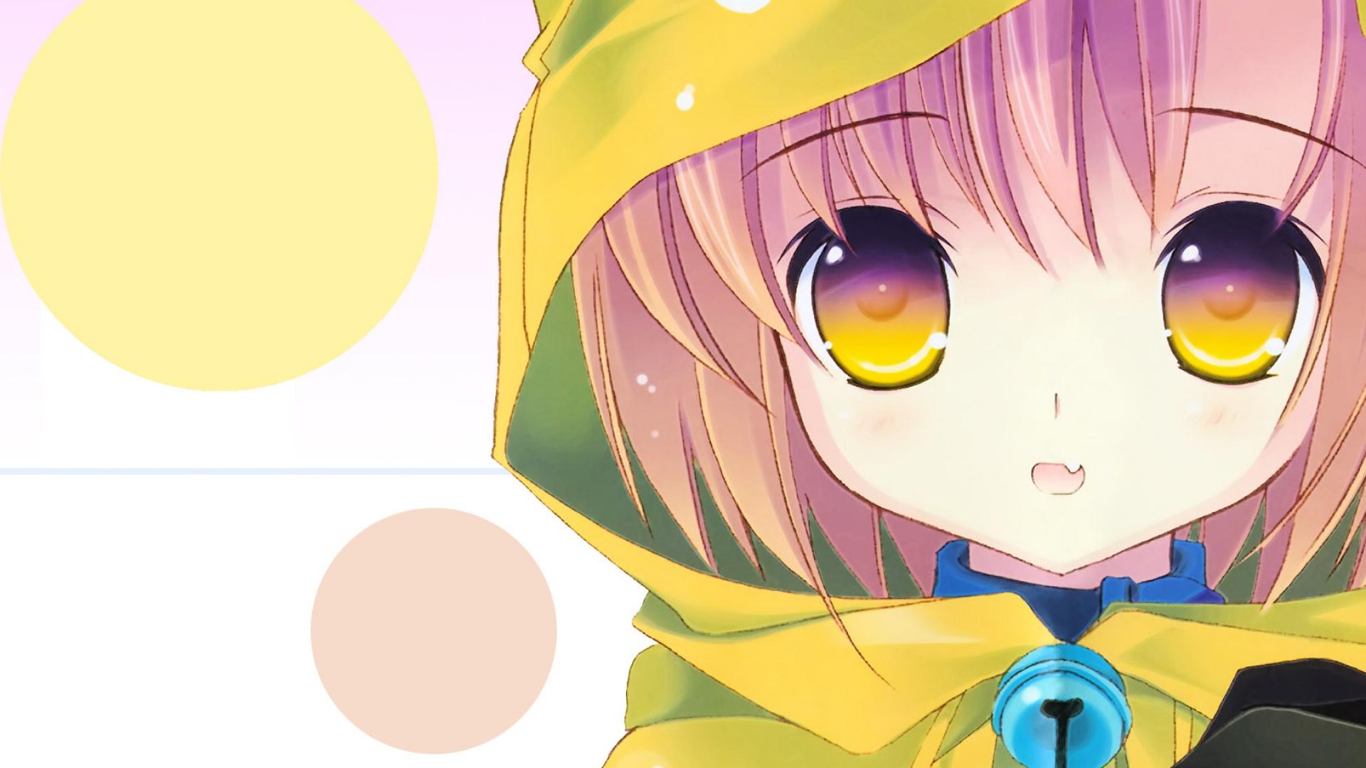 girl, cute, hood