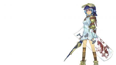 girl, defense, weapon