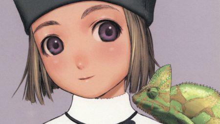 girl, eyes, chameleon