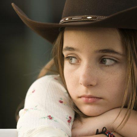 girl, face, sadness