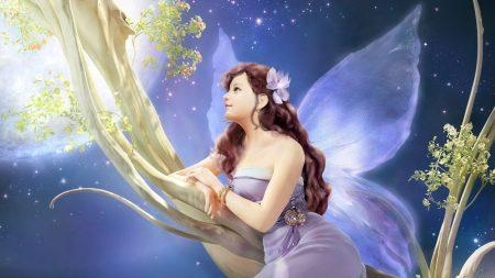 girl, fantasy, fairy