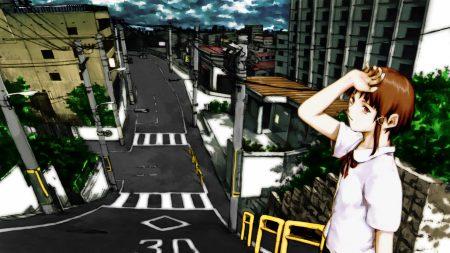 girl, fatigue, city