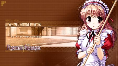 girl, fortune arterial, young