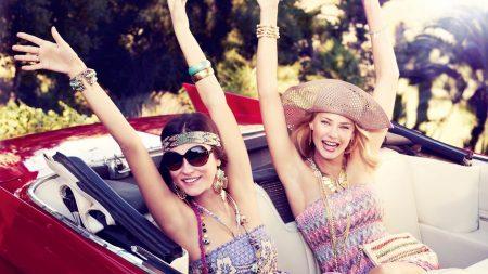 girl, girlfriend, happiness