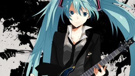 girl, guitar, circuit