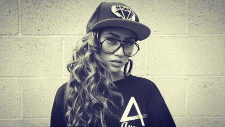 girl, hat, sunglasses