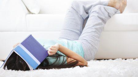 girl, learning, books