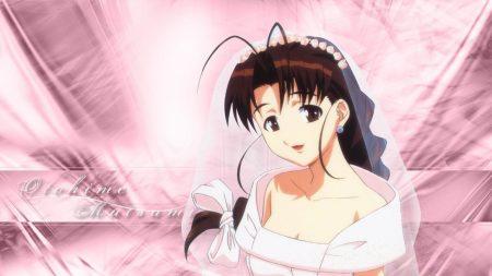 girl, love hina, bride