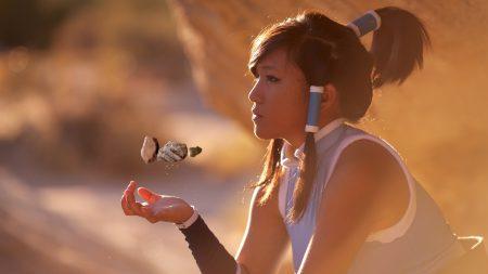 girl, person, asian