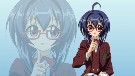girl, schoolgirl, glasses