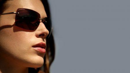 girl, sunglasses, brunette