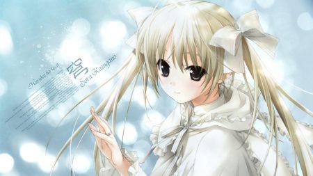 girl, yosuga no sora, blonde