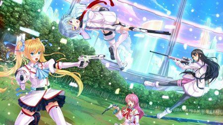 girls, guns, shooting