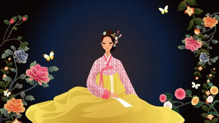 girls, japanese, dress