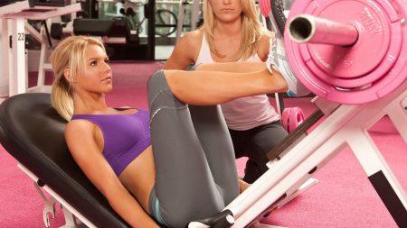 girls, training apparatus, pink