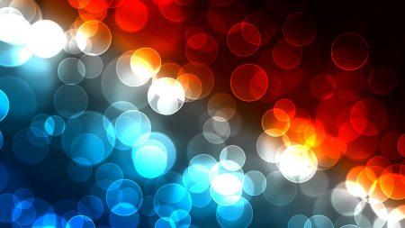 glare, colorful, circles