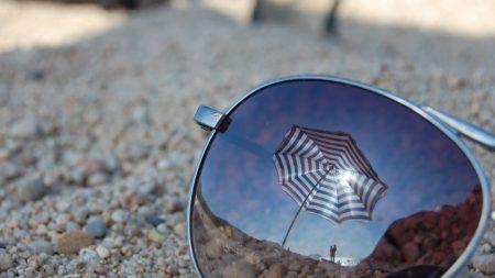 glasses, glass, umbrella